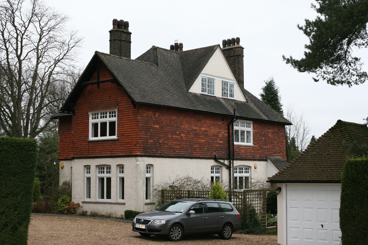 old rectory before